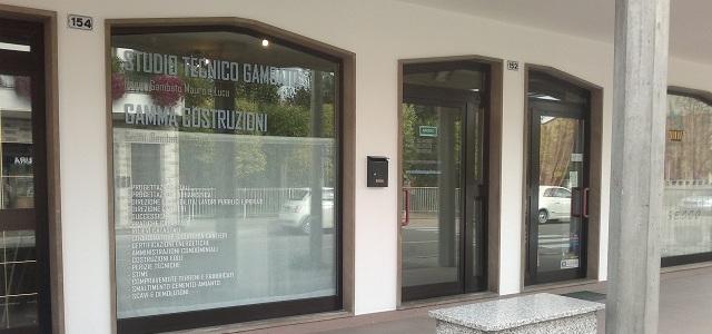 LA NUOVA SEDE DELLO STUDIO TECNICO GAMBATO ORA E' IN VIA ROMA 152 AD ARZERGRANDE (PD)
